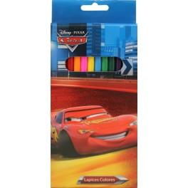 Farbstiften Set 12tlg. im Blister Cars