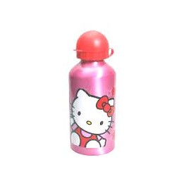 Trinkflasche Aluminium Hello Kitty 500ml 20cm