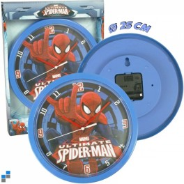 Wanduhr Spiderman
